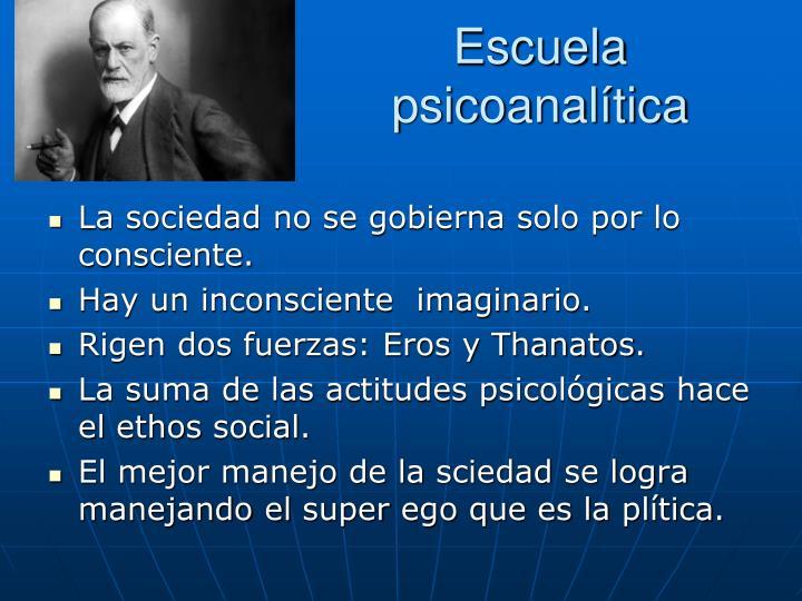 Escuela psicoanalítica