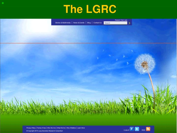 The LGRC