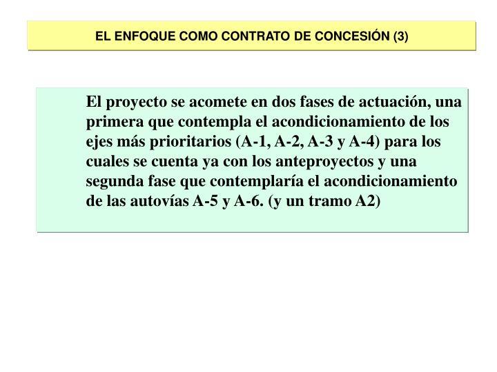 EL ENFOQUE COMO CONTRATO DE CONCESIÓN