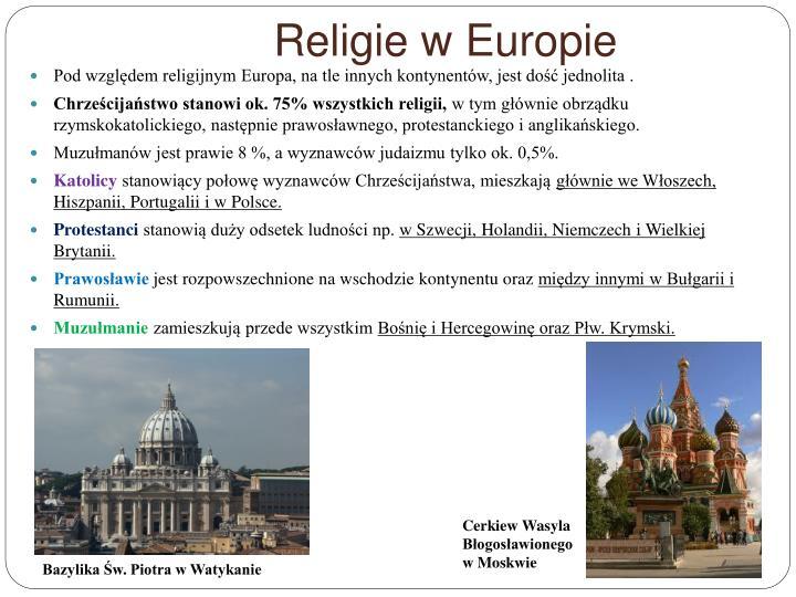 Religie w Europie