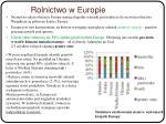 rolnictwo w europie
