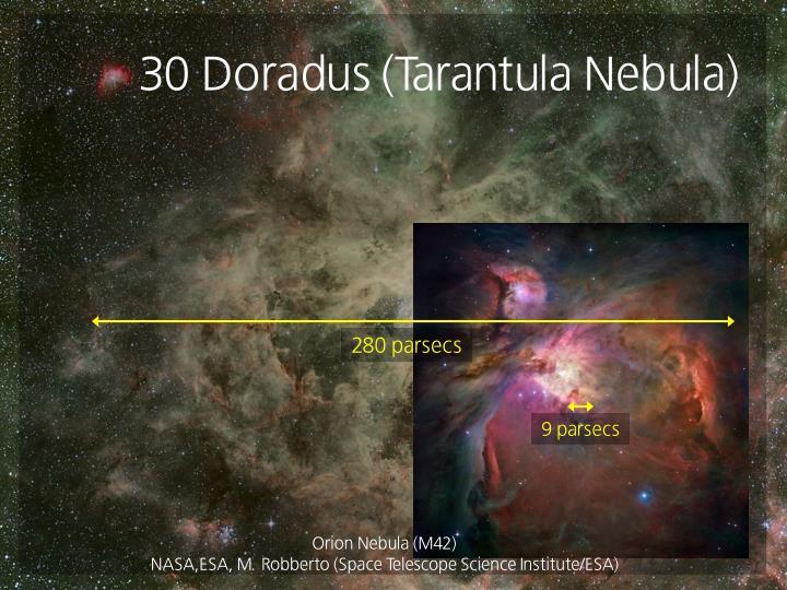 30 Doradus (Tarantula Nebula)