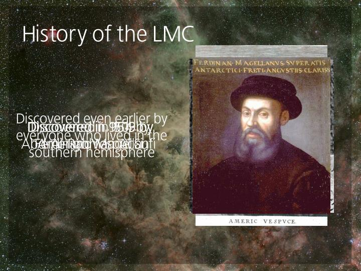 History of the lmc