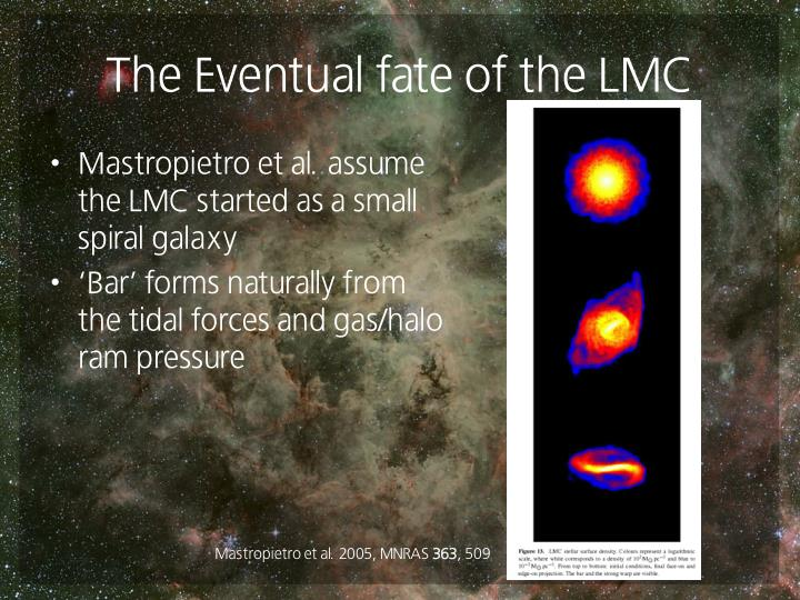 The Eventual fate of the LMC