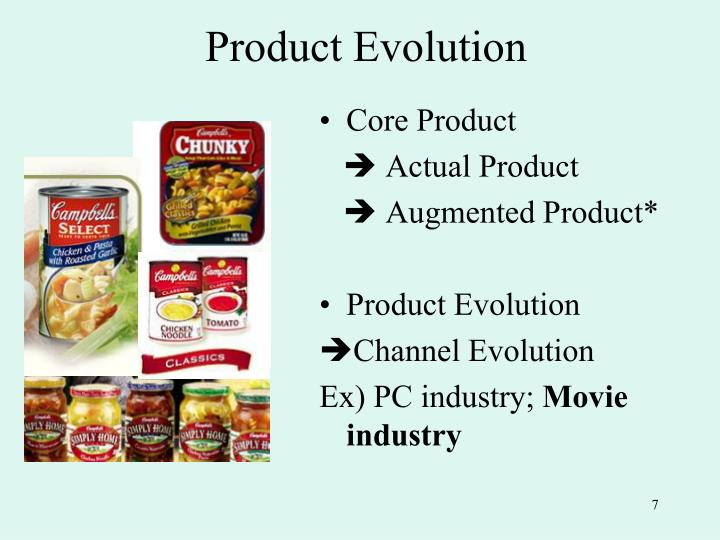 Product Evolution