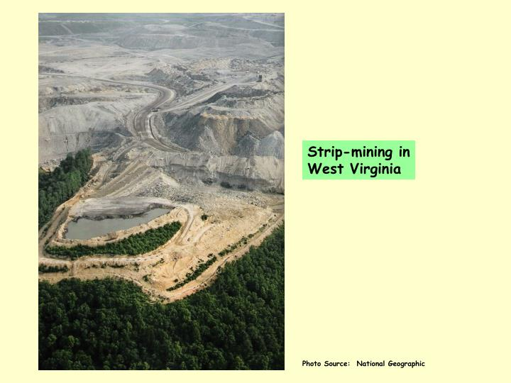 Strip-mining in