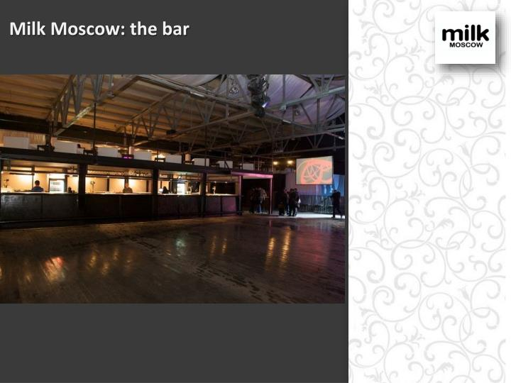 Milk Moscow: