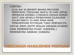 kebijakan manajemen piutang2