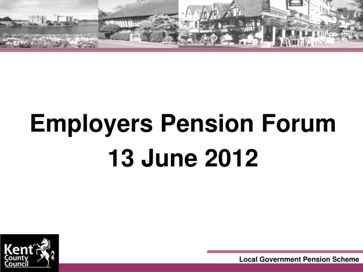 Employers Pension Forum