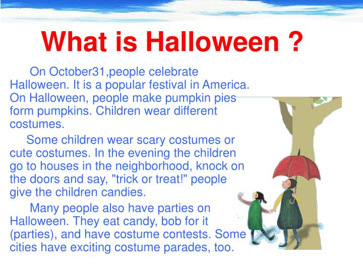 What is Halloween ?