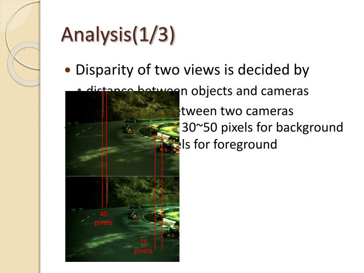 Analysis(1/3)