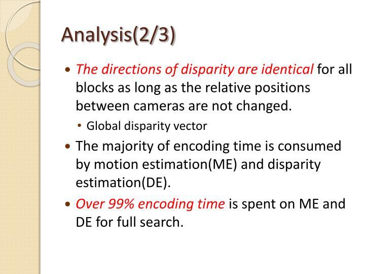 Analysis(2/3)