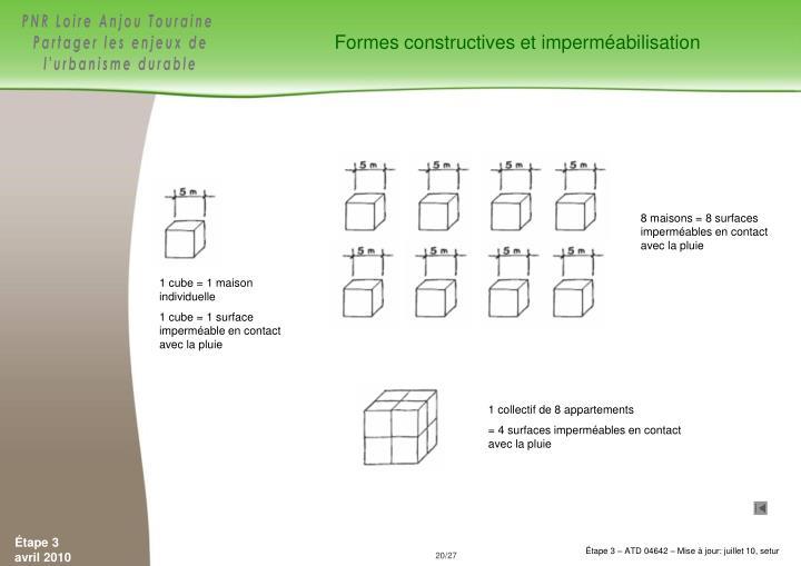 Formes constructives et imperméabilisation