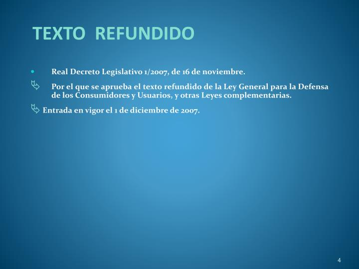 TEXTO  REFUNDIDO