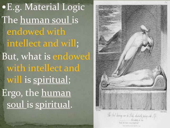 E.g. Material Logic