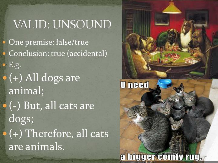 VALID: UNSOUND
