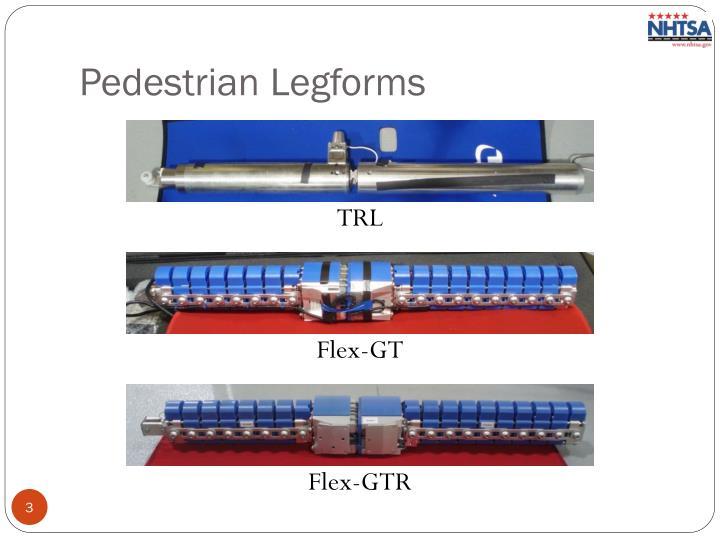 Pedestrian Legforms