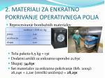 2 materiali za enkratno pokrivanje operativnega polja1