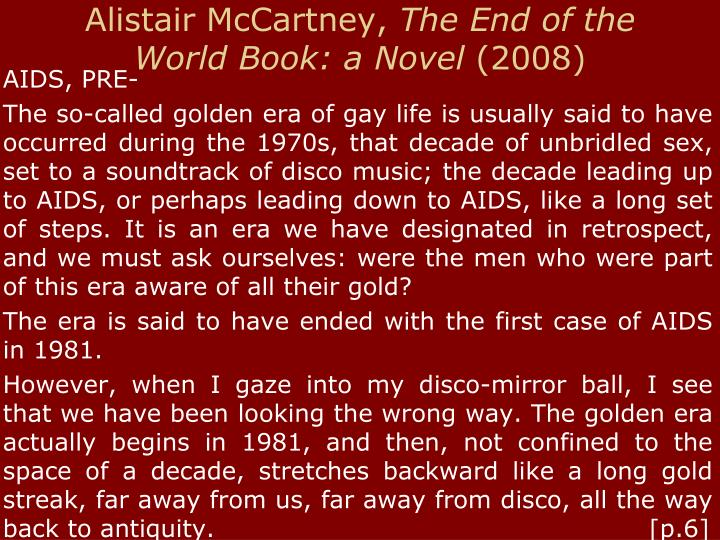 Alistair McCartney,