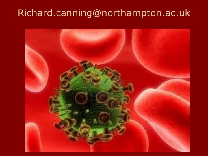 Richard.canning@northampton.ac.uk