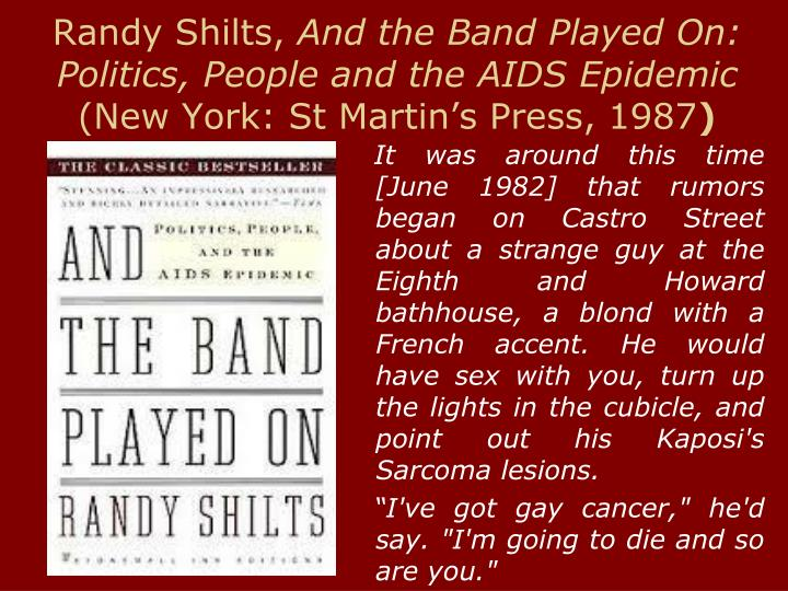 Randy Shilts,