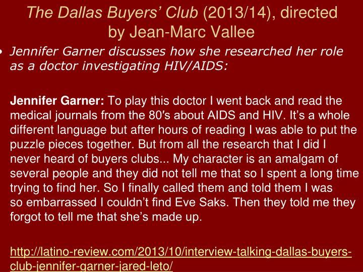 The Dallas Buyers' Club