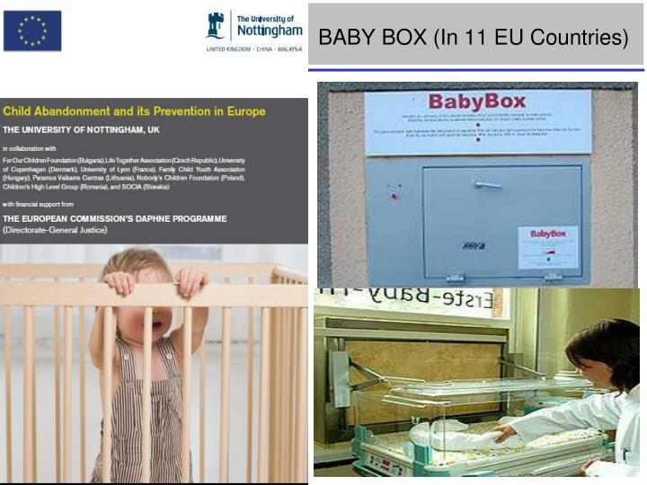 BABY BOX (In 11 EU Countries)