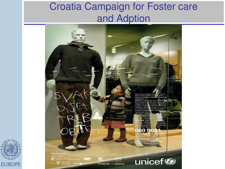 Croatia Campaign for Foster care