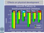 effects on physical development