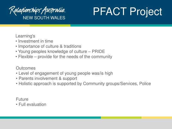 PFACT Project