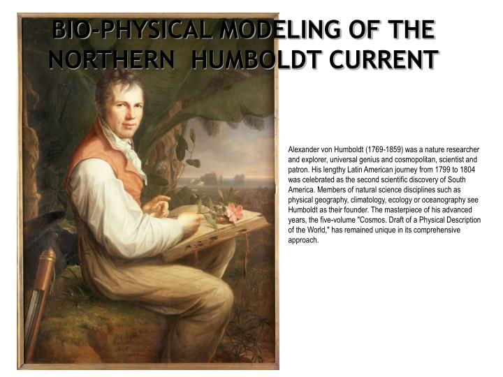 BIO-PHYSICAL MODELING OF THE NORTHERN  HUMBOLDT CURRENT