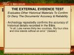 i believe the bible is god s word examine the evidence