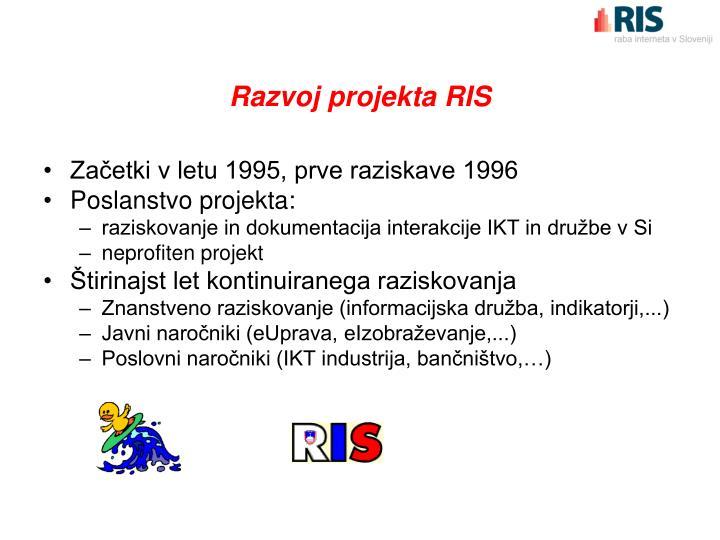 Razvoj projekta RIS