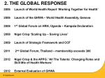 2 the global response