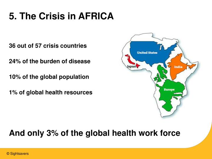 5. The Crisis in AFRICA