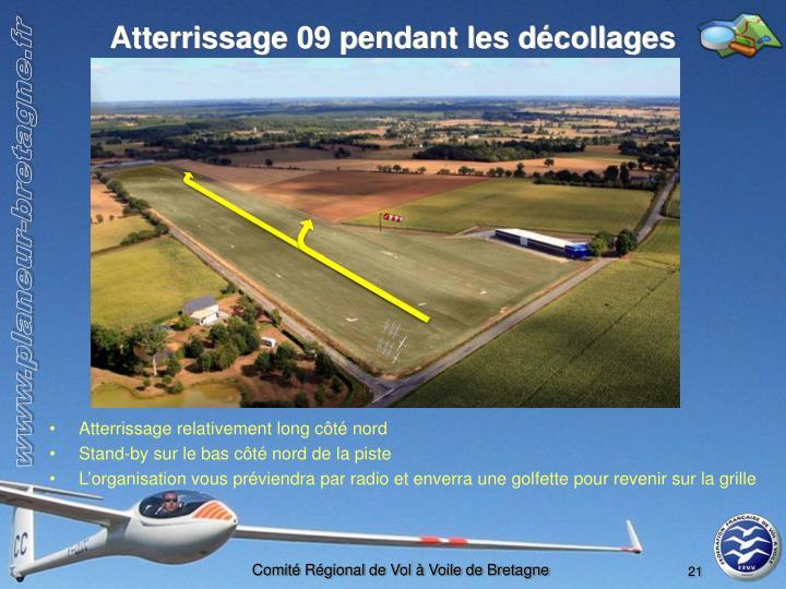 Atterrissage 09 pendant les décollages