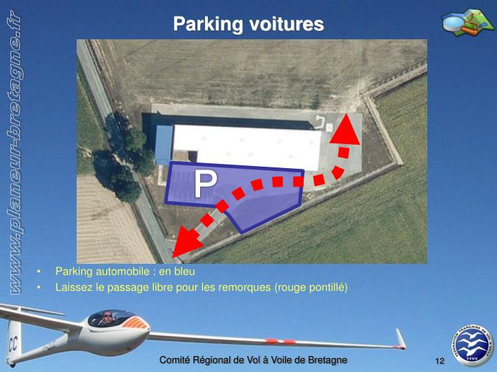 Parking voitures