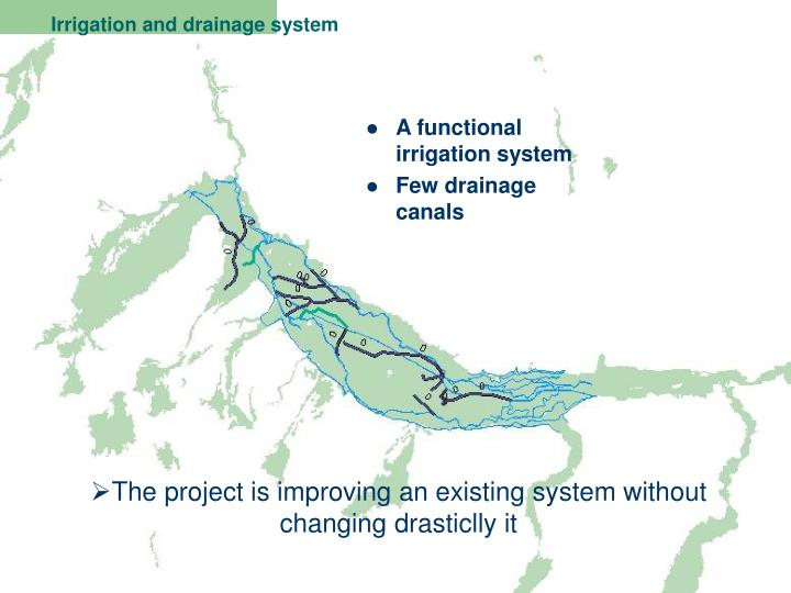 Irrigation and drainage system