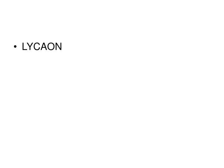 LYCAON