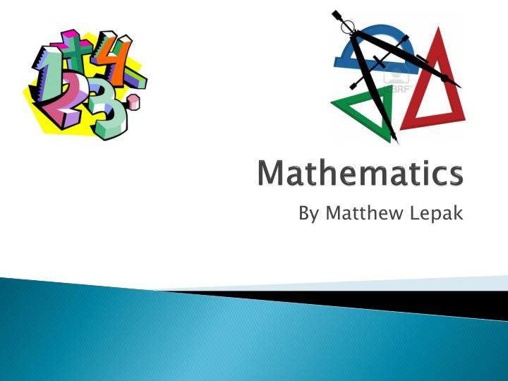 ppt - mathematics powerpoint presentation