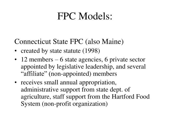 FPC Models: