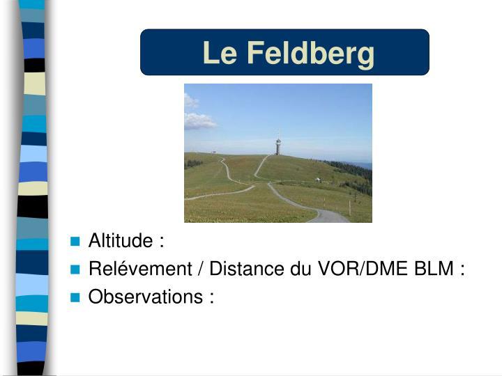 Le Feldberg