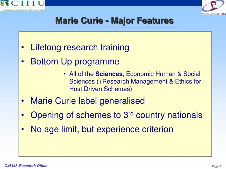 Lifelong research training