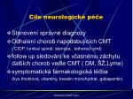 c le neurologick p e