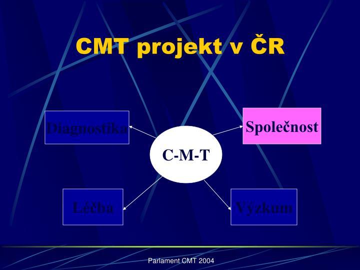 CMT projekt v ČR