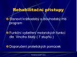 rehabilita n p stupy