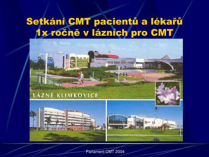 Setkání CMT pacientů a lékařů