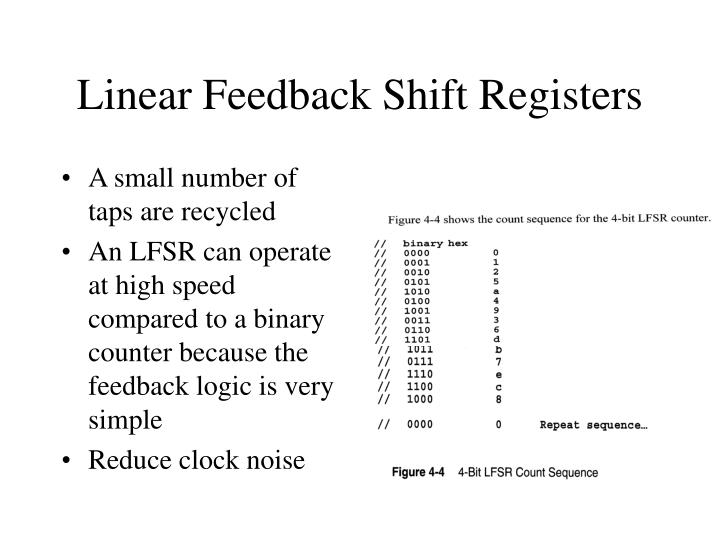 Linear Feedback Shift Registers