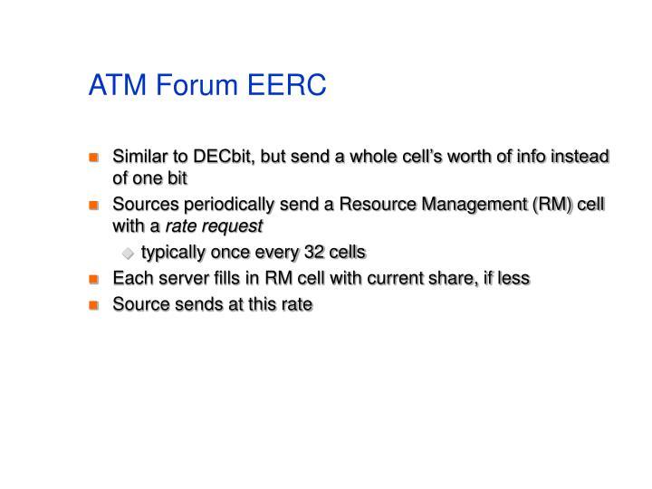 ATM Forum EERC