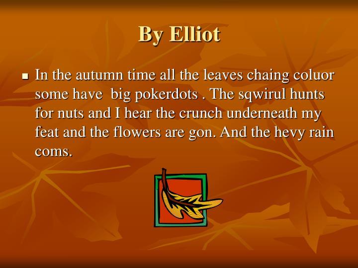 By Elliot